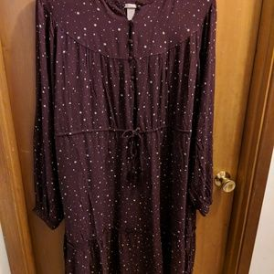 NWT H&M Viscose Crêped Dress Size 22 US